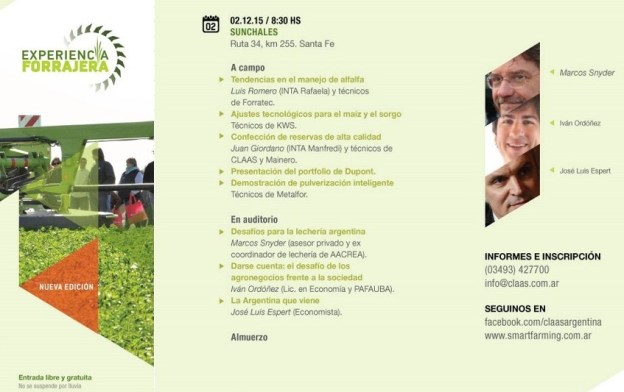 Flyer Experiencia Forrajera II