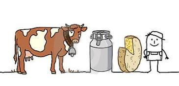 farmer-cow-milk-cheese-18443250